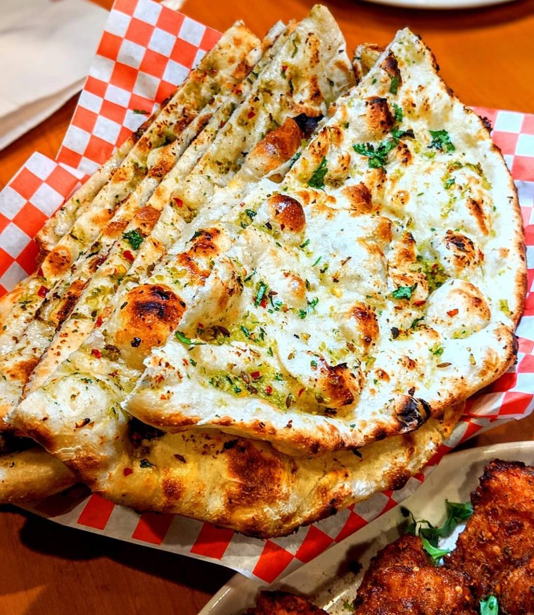 Karahi Point garlic-naan 12 Best Dishes to Eat When You're at Karahi Point (Part 1) Food  toronto pakistani seekh kebab palak paneer pakora nihari naan lahori fried fish kebaba karahi point karahi chicken tikka chicken karahi butter chicken biryani